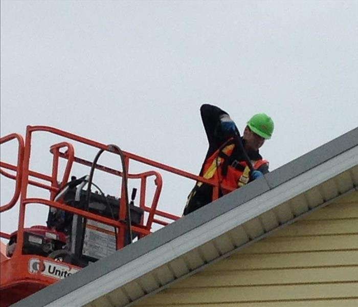Roof Cleanup at Buckeye Lake